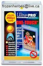 Ultra Pro 260pt One Touch UV Magnetic Holders**FULL CASE OF 15**BNIP*