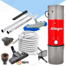 NEW!!! Allegro Aspirateur Central Vacuum Air Hose and Attachment Package Mophead