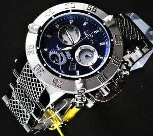 Invicta Grand Subaqua Noma Swiss Movement 56mm Stainless Steel Chronograph Watch