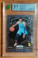 2019-20 Panini Prizm Ja Morant BASE RC #249 - Grizzlies Rookie - MNT MINT 8.5