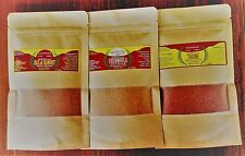 3 MOROCCAN SPICE BLENDS SAMPLE PACK  30g EACH.TOTAL 90g