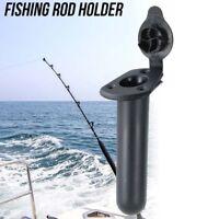 Flush Mount Fishing Rod Holder with Cap Cover Gasket Kayak Fixed Fishing Boat KV