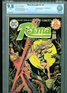 Rima, the Jungle Girl #4 CBCS 9.8 (1974) DC Comics White Pages