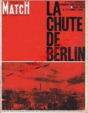 Paris Match n°828 du 20/02/1965 spécial ww2 la chute de Berlin 1945