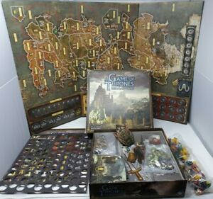 A Game Of Thrones Board Game (2nd Edition) Excellent Condition Complete