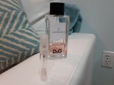 D&G L'Imperatrice #3 women EDT 10 ml (.33 oz) Sample Glass Spray bottle (2X5ml)