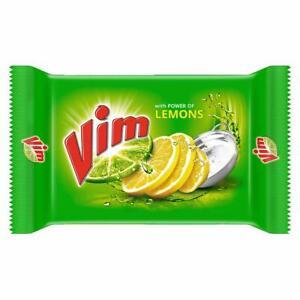 Vim Dish wash Bar Lemon Removes Stain & Grease With Power Of Lemon 25g 1 bar
