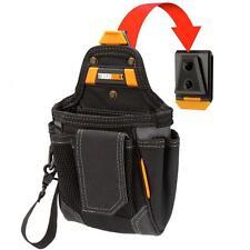 TOUGHBUILT Heavy Duty Cliptech Tool Belt 9-Compartment Warehouse Pouch Pocket