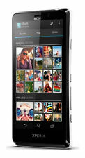 "Sony XPERIA T LT30P Black (FACTORY UNLOCKED) 13MP , 4.55"" TFT , 16GB"