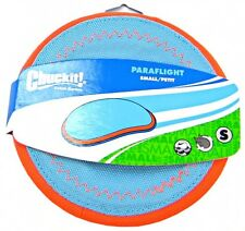 Chuckit Flying Disc Heli Frisbee Floating Fetch Dog Toy - Paraflight Small