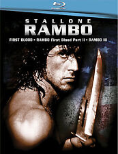 Rambo Trilogy (Blu-ray Disc, 2008, 3-Disc Set) Brand New