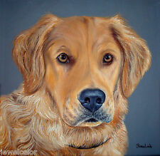 Custom Pet Painting Custom Portrait Commission Art Animal Artist Sharon Lamb