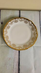"$45 Weimar ""Katharina"" Gold Trim 14051 salad plate"