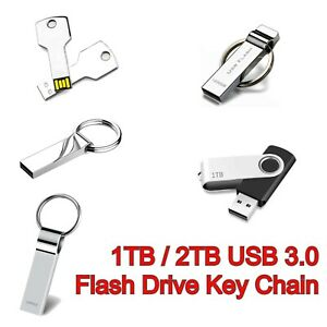 USB 3.0 1TB2TB Metal Flash Drive High Speed Memory Backup Disk for PC Laptop Mac