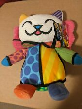 Britton Pop Plush Joy to the World cat with bent tag