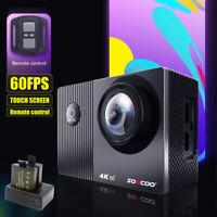 4K 60FPS WIFI Sports DV HD 1080P Action Camera Waterproof SOOCOO F91R Remote