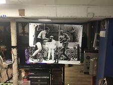 New BIG! 43x32 JACK JOHNSON vinyl banner Poster MUHAMMAD ALI mike tyson Art GGG