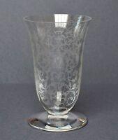 416 schwere Glas Humpen Henkelglas BACCARAT