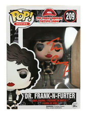 More details for rocky horror frank n furter funko pop signed by tim curry 100% authentic + coa