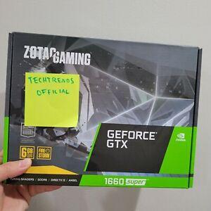 ZOTAC Gaming GeForce GTX 1660 Super 6GB GDDR5 192-bit ZT-T16620F-10L Video Card