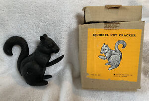 Vintage Cast Iron Squirrel Nutcracker