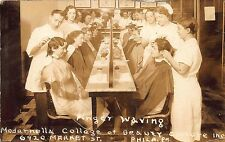 Philadelphia PA Modernella College of Beauty Culture Hair Dressing (2) Postcards