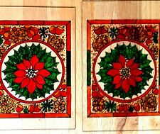 """Stained glass window panels x2...10""""x8"""""""