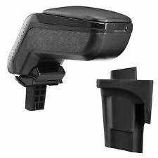 Diseño Apoyabrazos Reposabrazos Completo Cuero Negro Para Seat Leon II 1P 2005