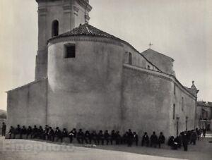 1932/72 Vintage PIANA Corsica Church Architecture Photo Art ANDRE KERTESZ 11x14