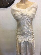 Vintage 80's wedding dress, Retro, New Wave, S/M,Pretty in pink,