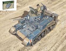 M3/M3A1 Stuart Light Tank Plastic Kit 1:56 Model 15761 ITALERI