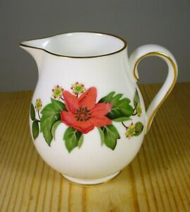 "Wedgwood Bone China ""Starflower"" Milk Jug W4159"