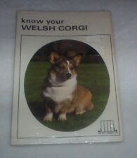 Know Your Welsh Corgi No. 541 by Pet Library Ltd. Staff - New in Sealed Package
