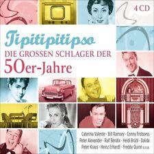 Tipitipitipso-Les grands succès de la 50er-Années 4 CD NEUF