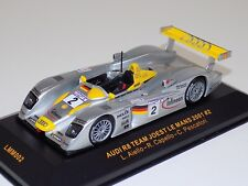 1/43 IXO Audi R8 Joest  car #2 ,from 2001 24 Hours of LeMans  LMM002
