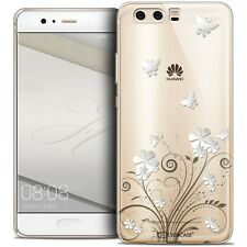 Coque Crystal Gel Pour Huawei P10 Extra Fine Souple Summer Papillons