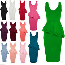 Women's Polyester V Neck Stretch, Bodycon Knee Length Dresses
