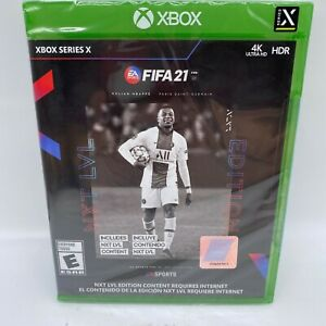 Xbox One X - FIFA 21 (NXT LVL Edition) Brand New Sealed - Soccer Series X Game