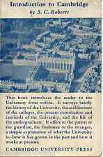 Introduction to Cambridge by S.C. Roberts (1945 Cambridge University Press)
