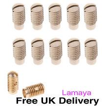 More details for 10 x saxophone adjuster screws for alto tenor soprano spare parts accessories