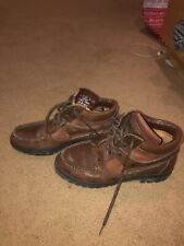 timberland Unisex brown leather boots Size Women's 8.5 Men's 6