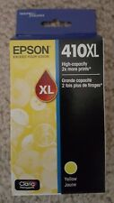 Epson 410XL Yellow Ink Cartridge, High Capacity (T410XL420) exp 03/2020