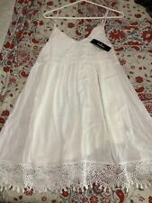 New With Tags - Women's Dress By Lulu's white/off white medium GREAT
