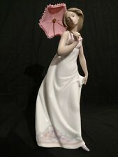 Mint Lladro 7636 Afternoon Promenade Porcelain Figurine with Box