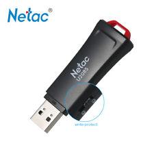 16G Netac U208S USB2.0 Flash Drive U Disk Memory Stick Write Protect for PC U5Z6