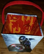 Lot of 6 - Avengers Paperboard Buckets for Easter, Birthdays, Gift Baskets NEW!