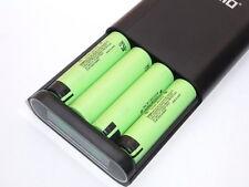 1 Power Bank 14000 Tomo + 4 Batterie Panasonic 18650b Ncr 3400 Mah Monster Power
