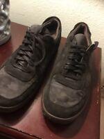 John Varvatos Black Camo Low-Top Casual Comfort Sneaker Men's US 15 M