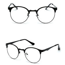 Optical Glasses Eyeglass Frame Fashion Men Women Vintage Spectacles Clear Metal