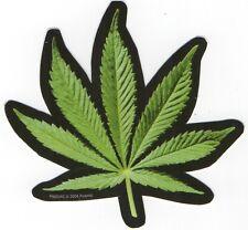 Cannabis Leaf sticker hashish Vinyl Waterproof Bumper Board Ipad Tablet Laptop